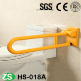 Barra de segurança material amarela do branco ABS/Nylon para pessoas idosas