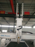A máquina 4 Aixs do CNC de China com Hsd gira o eixo