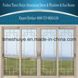 Раздвижные двери моста Huiye времен алюминиевые сломанные