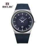 Belbiの男性用スポーツの腕時計の方法偶然の防水金電池のカレンダの腕時計