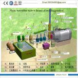 Mini refinamiento inútil de Urbber a la planta de petróleo 3ton por el tratamiento por lotes
