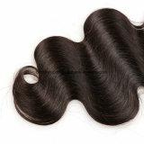 Pacotes não processados do cabelo da cor do preto do cabelo humano da onda brasileira do corpo do cabelo do Virgin