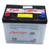 Bateria de carro ácida seca do acionador de partida/auto bateria 12V 50ah (N50) N50