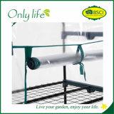Invernadero económico plegable del PVC de Onlylife 4-Tier mini