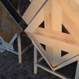 Специальная крестовидная мраморный плитка для стены или пола