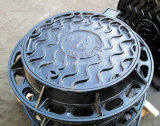 BS En124 Standard Anti Theft Ductile Iron Manhole Cover (850mm)