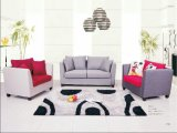 صغير الحجم نسيج أريكة، أثاث منزلي، أريكة الحديثة (S609)
