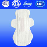 245mm normal Ultra Thin anión Servilletas Sanitarias Pad con Alas