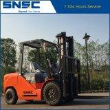 Chinese Ce 4 Ton Diesel empilhadeira com importados Isuzu Motor