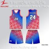 Sportswear do desgaste da roupa de Jersey dos uniformes do basquetebol da cópia de Digitas da alta qualidade