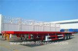 Ctsm 3 Behälter-Transport-halb Schlussteil des Wellen-Flachbett-40FT