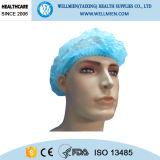 Wegwerf-/nicht Woven/PP chirurgische Schutzkappe mit elastischem Band