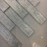 A telha cinzenta de cristal a mais nova do tijolo de vidro para a decoração da parede