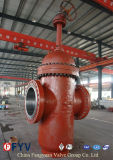 API 600 Wedge Gate Valves mit Gear Operation