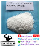 Alta polvere grezza CAS dell'acetato di Methenolone di analisi (Primobolan): 434-05-9