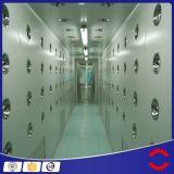 クリーンルーム装置のクリーンルームの空気シャワーのステンレス鋼の空気シャワー