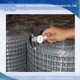 Rete metallica saldata galvanizzata certificato di iso, reticolato di saldatura (fabbrica)
