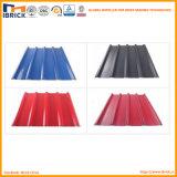 El mejor azulejo de azotea plástico del PVC del azulejo del PVC del material de material para techos del precio