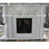 Fiori di vendita caldi di bordi del camino del marmo di disegno di modo (SY-MF151)