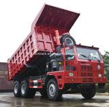 Sinotruk 광업 덤프 트럭 광업 팁 주는 사람 트럭