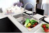 Personalizado y Projet melamina Mobiliario de cocina (ZG-034)