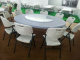 6ft Outdoor Banquet Plastic Folding Round Table From 중국