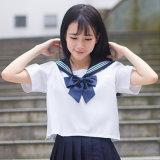 Uniformes escolares uniformes del marinero de la marina de la manera del marinero japonés de la escuela para el juego de las muchachas de Cosplay