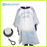 Förderndes Gift Disposable PET Raincoat in Soccer Ball