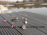 Decking ao ar livre durável e impermeável do baixo preço da alta qualidade da madeira WPC