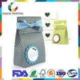 Bolso de papel durable barato del regalo del OEM de la fábrica con la maneta de papel