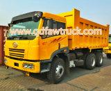 Carro resistente del volquete FAW, 20 toneladas de descargador, carro de volquete
