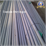Prix raisonnable de pipe/tube de fini de noir d'acier inoxydable