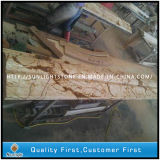 Het gouden Beige Marmer van Crema EVA voor Vloer, de Tegels van de Trede, Countertop
