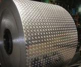 Bobina de alumínio gravada estuque do teste padrão da casca alaranjada