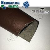 O couro sintético abrasivo do PVC para a tampa dos TERMAS dos iate ensaca a mobília do sofá