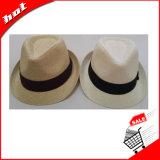 중절모 모자, 서류상 모자, 길쌈된 서류상 모자, 밀짚 모자