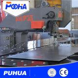 China mechanische CNC-Locher-Presse-Maschine für 3mm den Fluss-Stahl