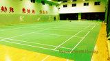 高品質PVCはバドミントン裁判所/バドミントンのマットに使用されるフロアーリングを遊ばす