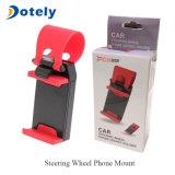 De multifunctionele Houder zet de Handen van de Contactdoos Vrij op het Stuurwiel van de Auto voor Smartphone op