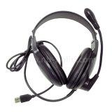 Forma por atacado para o PC com o USB dos auriculares do microfone