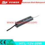 fonte de alimentação do diodo emissor de luz 12V1.67A/lâmpada de alumínio/tira flexível IP67 impermeável