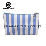 Le PVC transparent avec des jeux d'intérieur de sacs de pistes bleues composent le sac