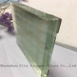 Gafa de seguridad plateada del vidrio/del vidrio laminado/arte del espejo para la decoración