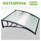 Лист полости сени тени крыши окна тента поликарбоната 80*120 складывая