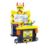 Горячей машина видеоигры игроков робота 2 желтого цвета сбывания управляемая монеткой для малышей