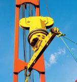 Gbm Energien-Schwenker, der teleskopische Behälter-Spreizer für Plattform-Kran dreht
