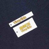 Etiquetas de encargo de la caída de la ropa del papel especial de la dimensión de una variable en Guangzhou (Shangpin-006A)