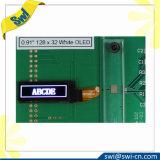 """0.91 """" 4 철사 Spi 커뮤니케이션 12864 파란 LCD 모듈 OLED"""