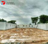 Casa pré-fabricada do recipiente do projeto em Tailândia