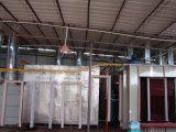 Línea de capa electrostática del polvo para las puertas